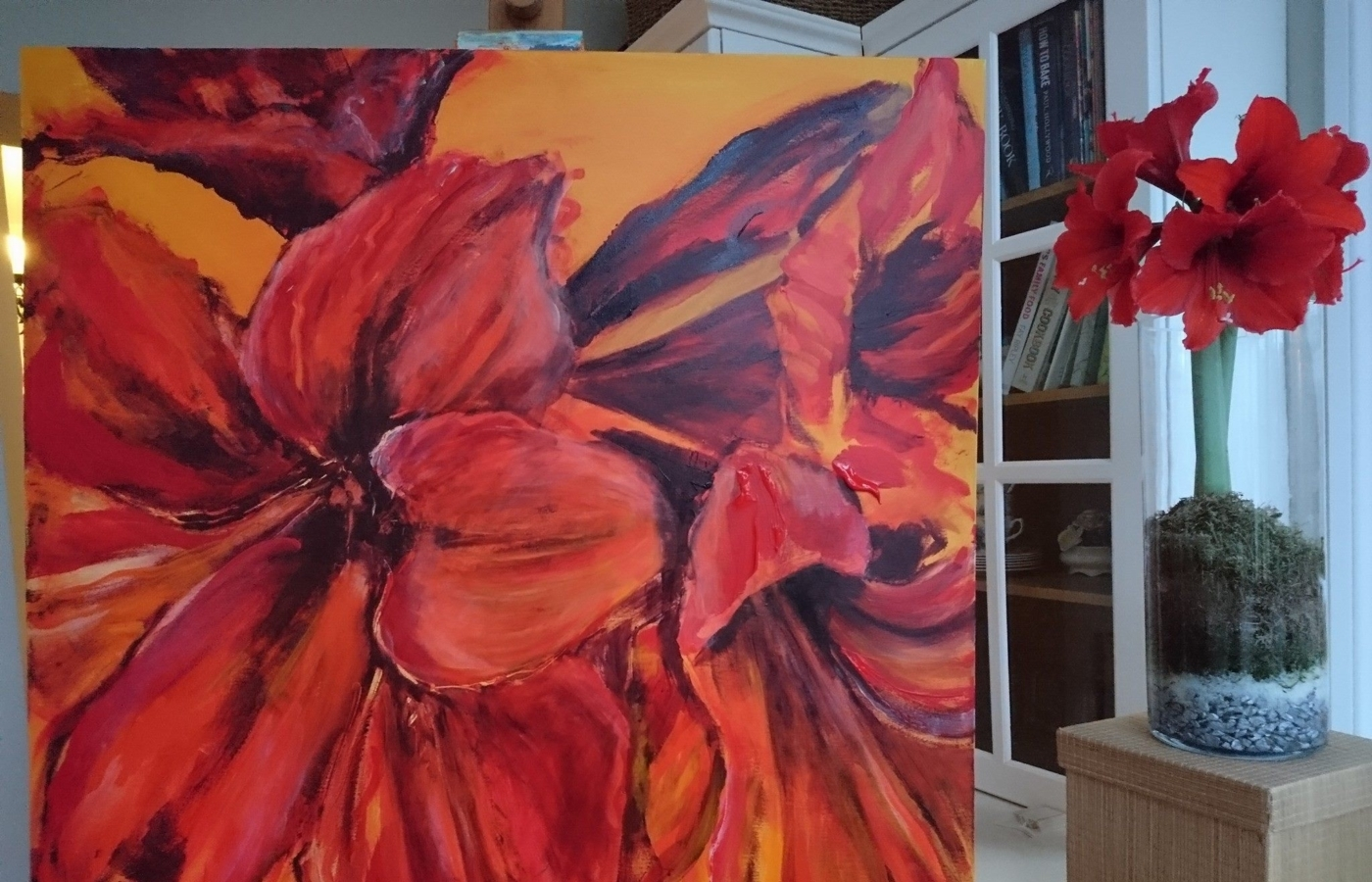 Local artist Caroline Day exhibiting at Overtown Manor