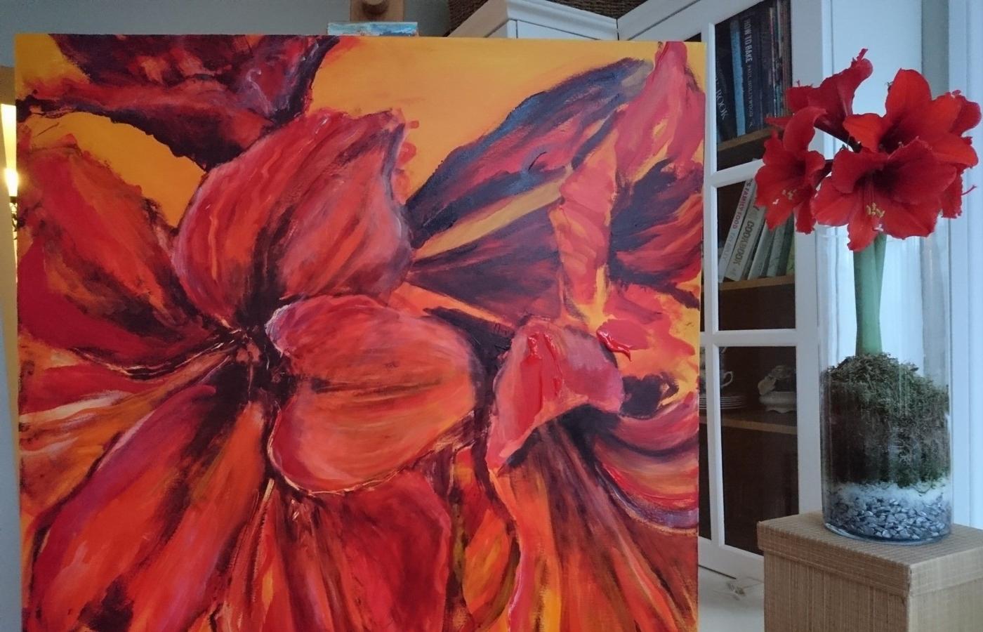 Local artist Caroline Day exhibiting at Overtown Manor
